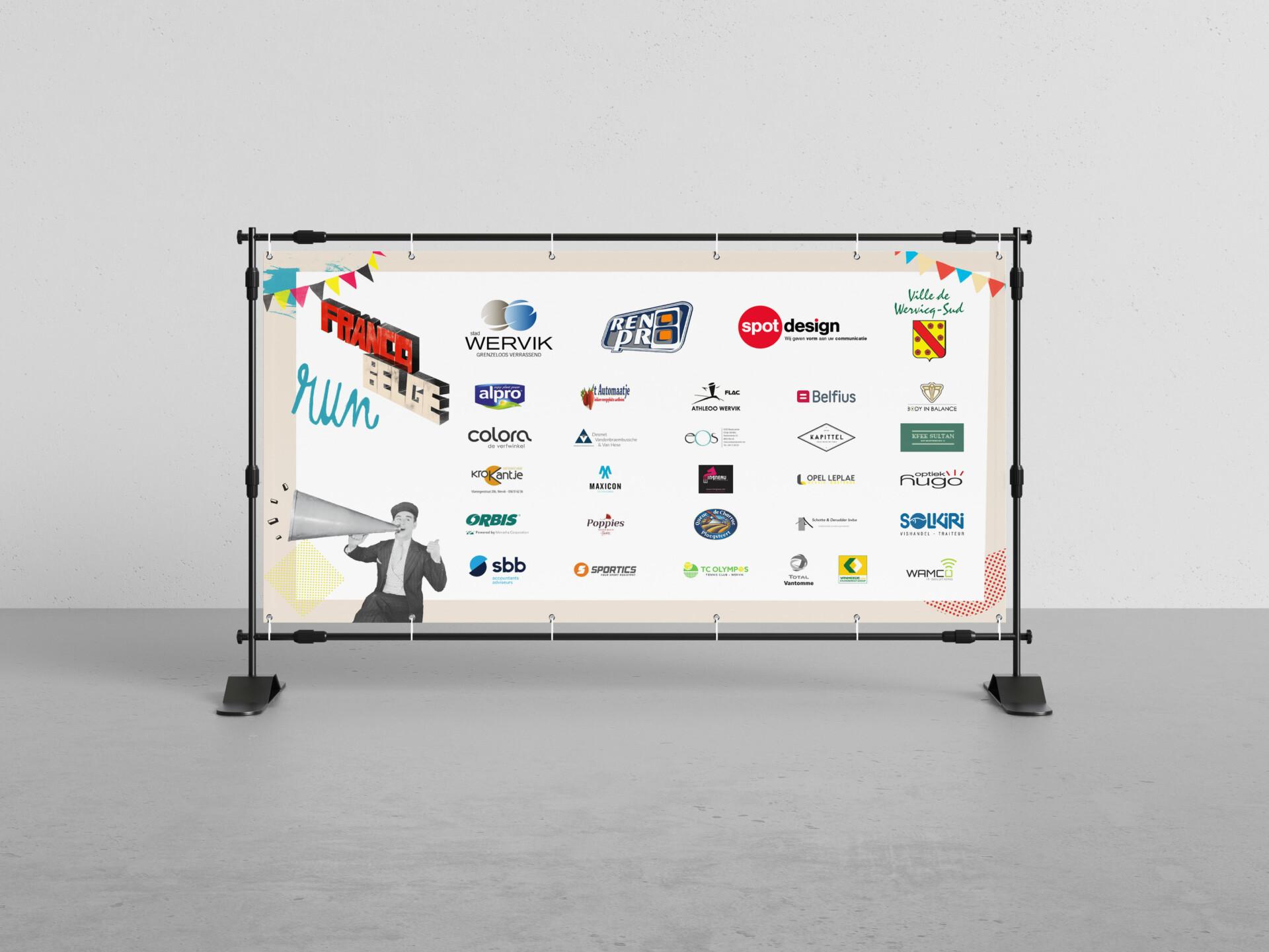 Francobelge Mockup Banner