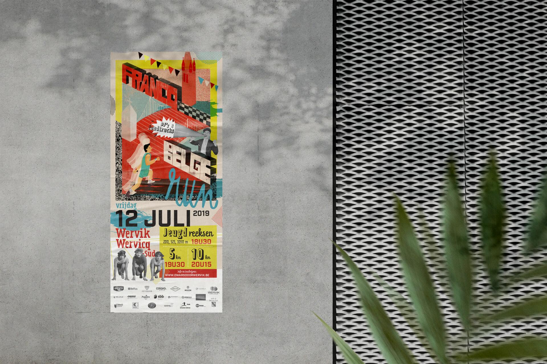 Francobelge Mockup Poster